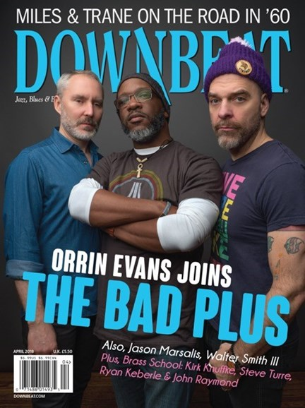 DownBeat Cover - 4/1/2018