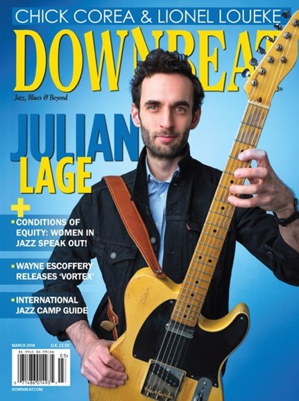 DownBeat Cover - 3/1/2018