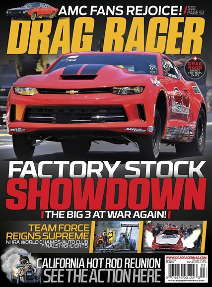 Drag Racer Cover - 3/1/2018