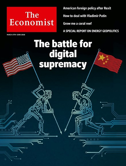 The Economist Cover - 3/17/2018