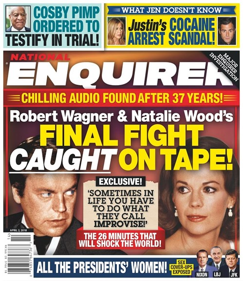 National Enquirer Cover - 4/2/2018