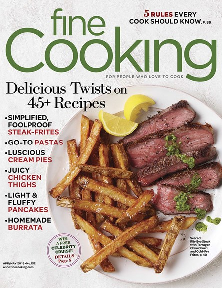 Fine Cooking Cover - 4/1/2018
