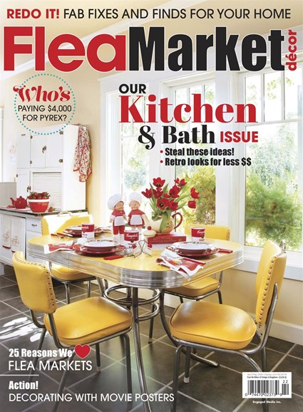 Flea Market Décor Cover - 4/1/2018