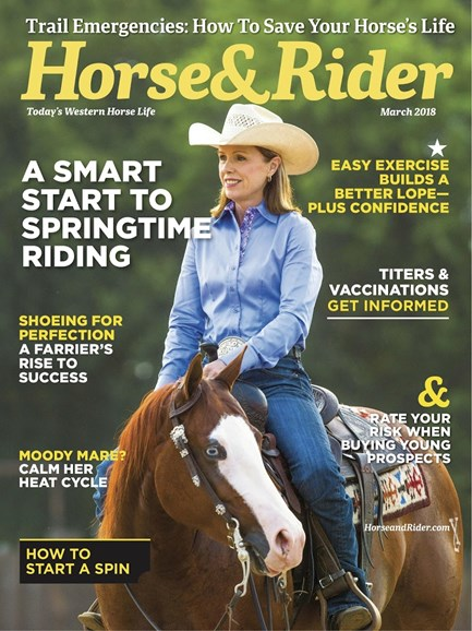 Horse & Rider Cover - 3/1/2018
