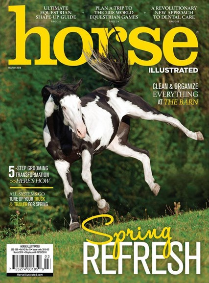 Horse Illustrated Cover - 3/1/2018