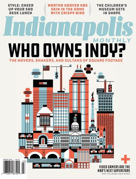 Indianapolis Monthly Cover - 3/1/2018