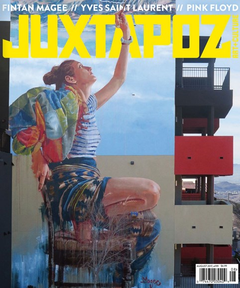 Juxtapoz Cover - 8/1/2017