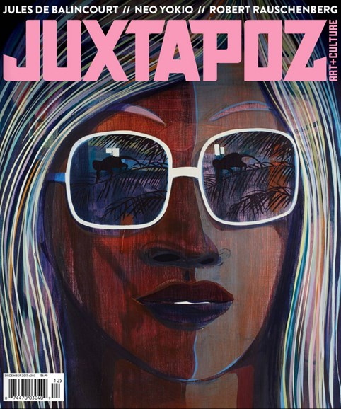 Juxtapoz Cover - 12/1/2017