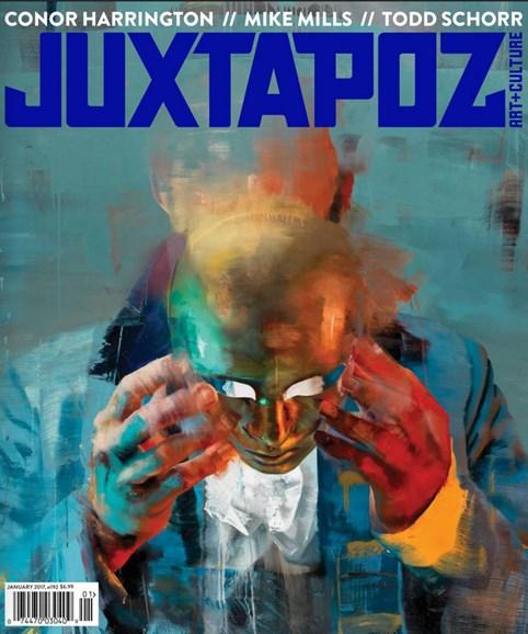Juxtapoz Cover - 1/1/2017