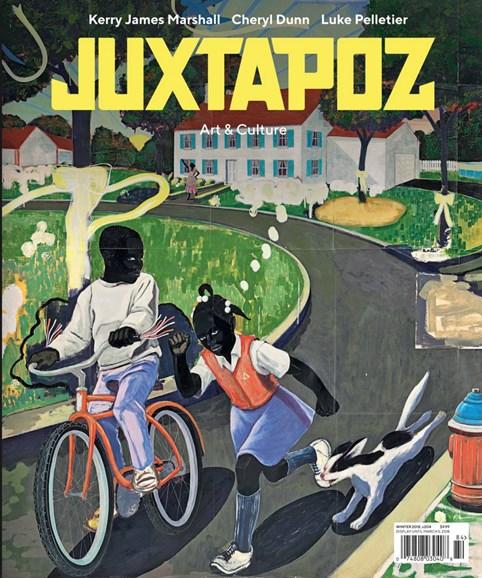 Juxtapoz Cover - 1/1/2018