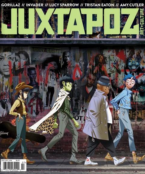 Juxtapoz Cover - 7/1/2017