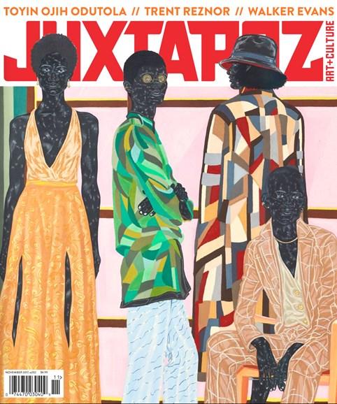 Juxtapoz Cover - 11/1/2017