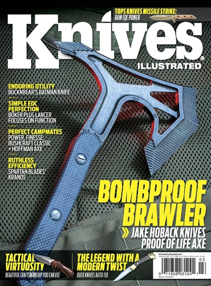 Knives Illustrated Cover - 3/1/2018
