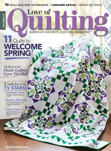 Fons & Porter's Love of Quilting Cover - 3/1/2018