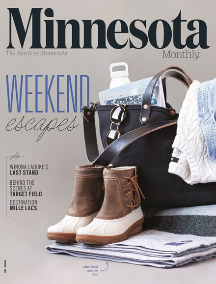 Minnesota Monthly Cover - 4/1/2018