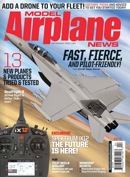 Model Airplane News Cover - 4/1/2018