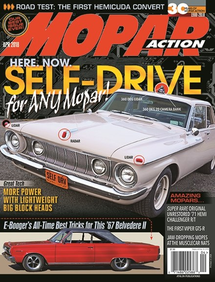 Mopar Action Cover - 4/1/2018