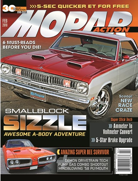 Mopar Action Cover - 2/1/2018