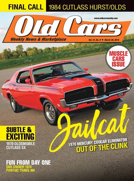 Old Cars Cover - 3/29/2018