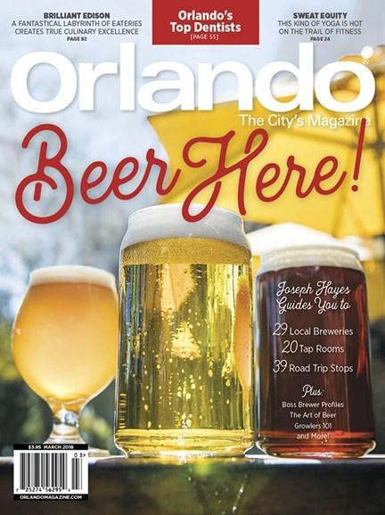 Orlando Magazine Cover - 3/1/2018