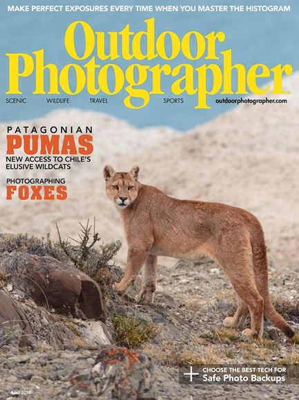 Outdoor Photographer Cover - 4/1/2018