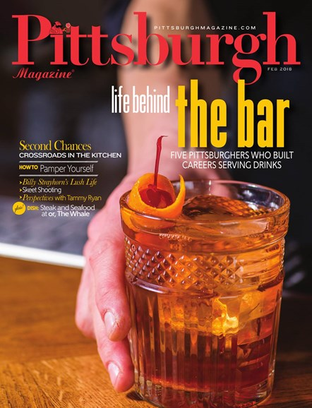 Pittsburgh Magazine Cover - 2/1/2018