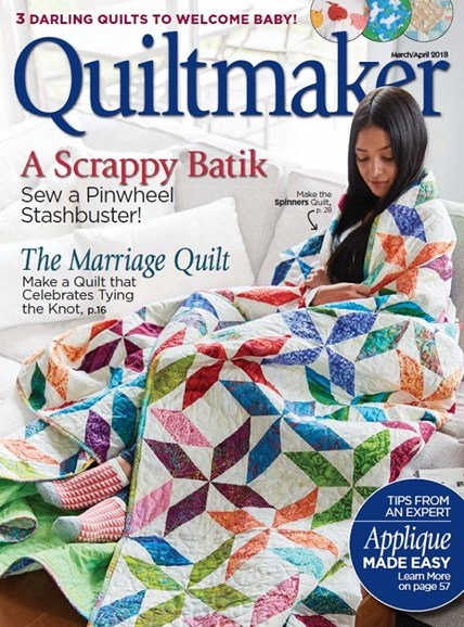 Quiltmaker Cover - 3/1/2018