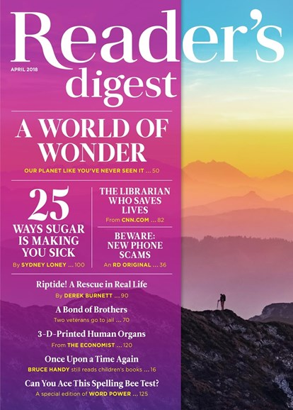 Reader's Digest Cover - 4/1/2018