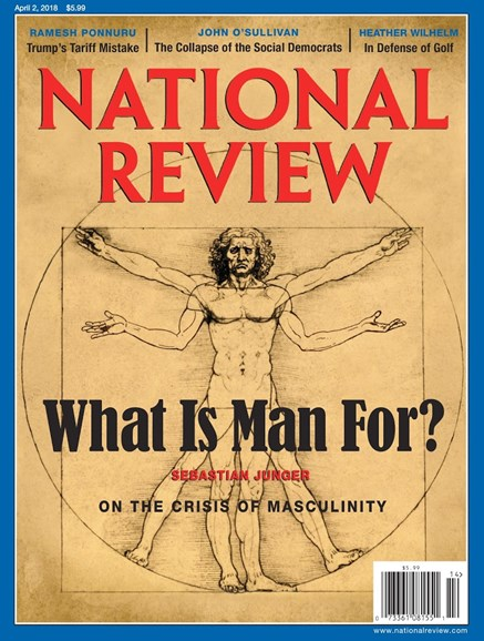 National Review Cover - 4/2/2018