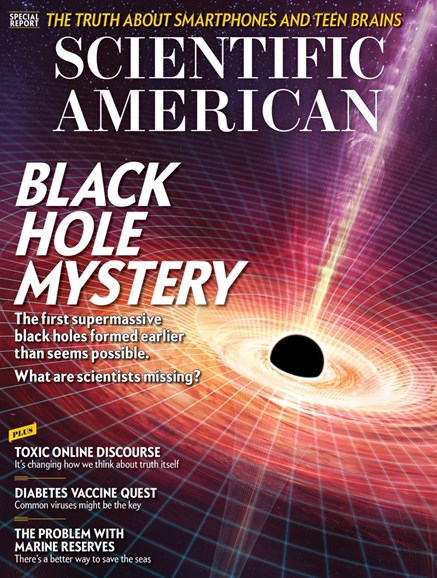 Scientific American Cover - 2/1/2018
