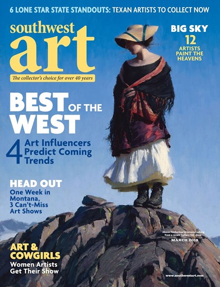 Southwest Art Cover - 3/1/2018