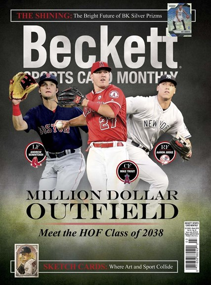 Beckett Sports Card Monthly Cover - 3/1/2018