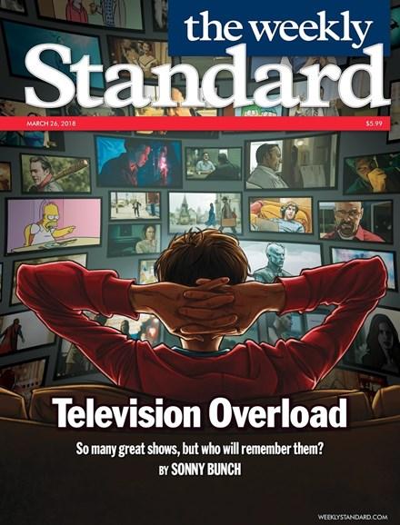 Washington Examiner Cover - 3/26/2018