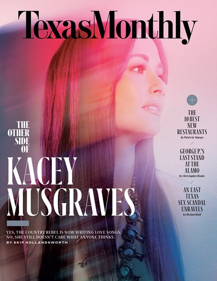 Texas Monthly Cover - 3/1/2018