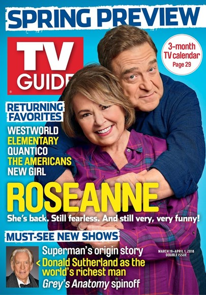TV Guide Cover - 3/19/2018