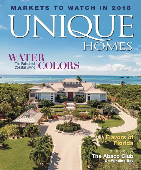 Unique Homes Cover - 1/1/2018
