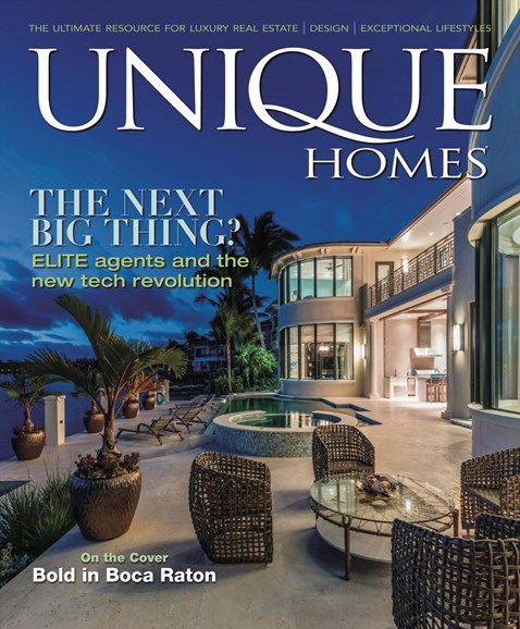 Unique Homes Cover - 3/1/2018