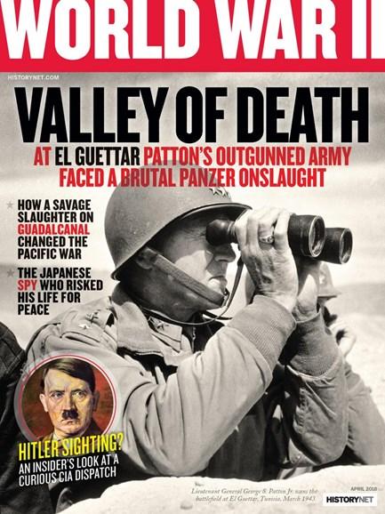 World War II Cover - 3/1/2018