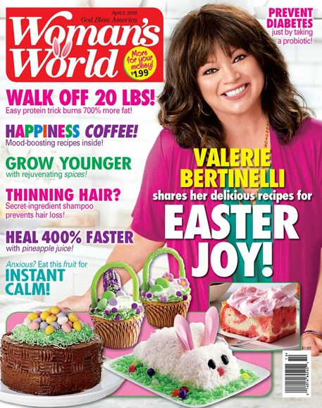 Woman's World Cover - 4/2/2018