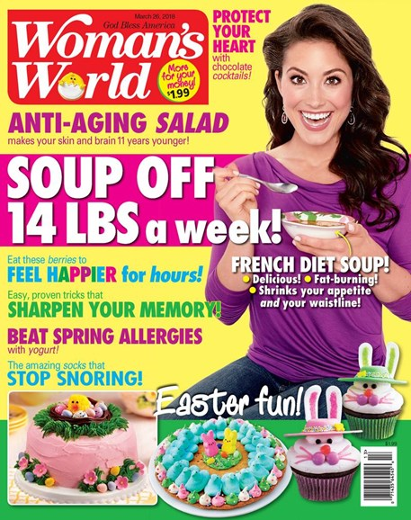 Woman's World Cover - 3/26/2018