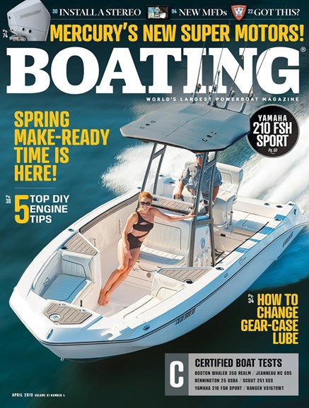 Boating Cover - 4/1/2018