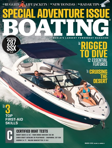 Boating Cover - 3/1/2018