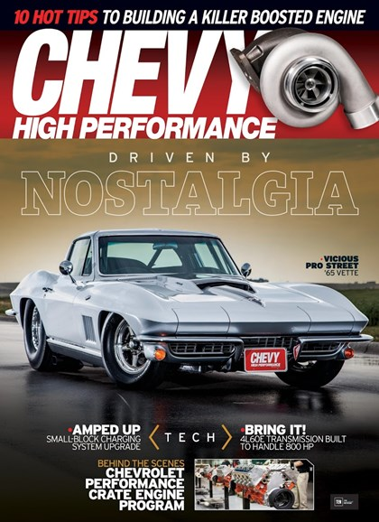 Chevy High Performance Cover - 5/1/2018