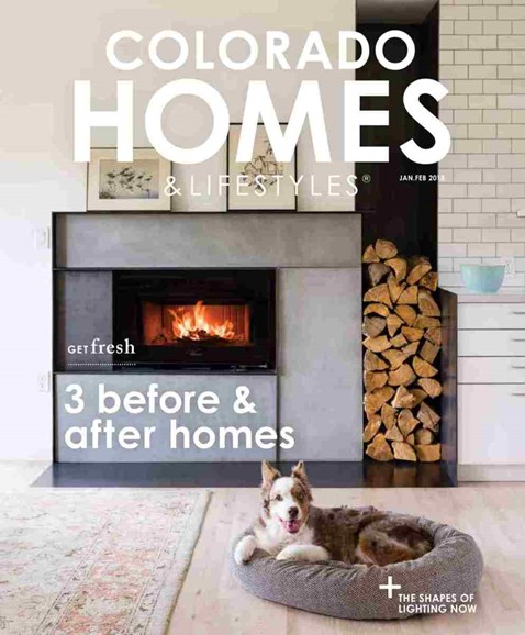 Colorado Homes & Lifestyles Cover - 1/1/2018