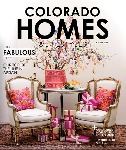 Colorado Homes & Lifestyles Cover - 11/1/2017