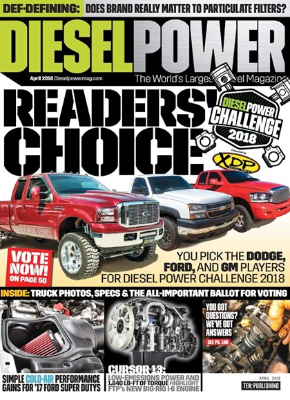 Diesel Power Cover - 4/1/2018