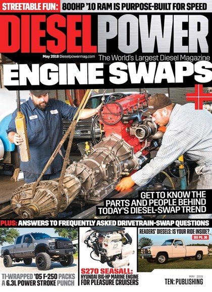 Diesel Power Cover - 5/1/2018
