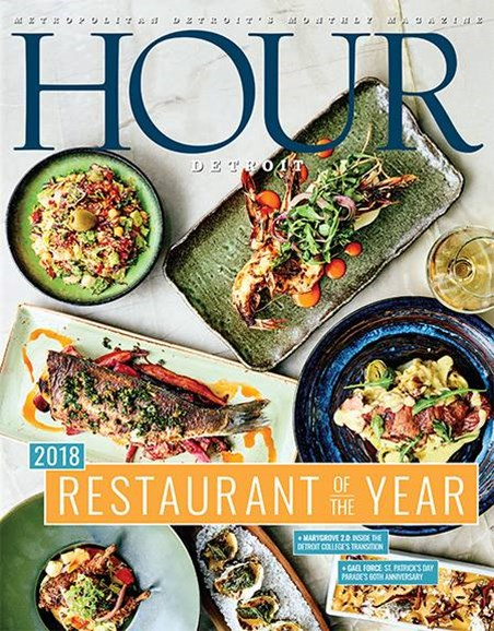 Hour Detroit Cover - 3/1/2018