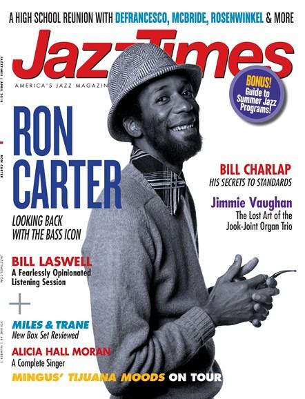 JazzTimes Cover - 4/1/2018