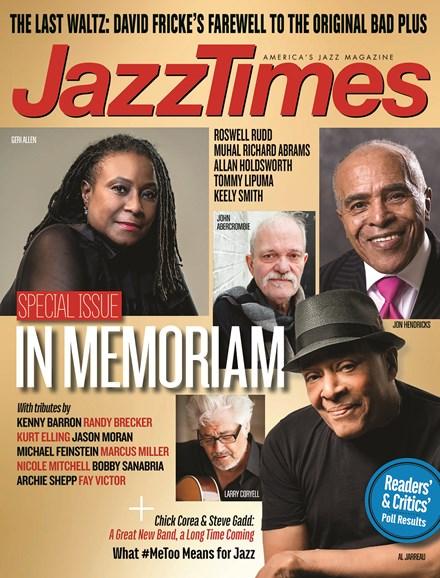 JazzTimes Cover - 3/1/2018